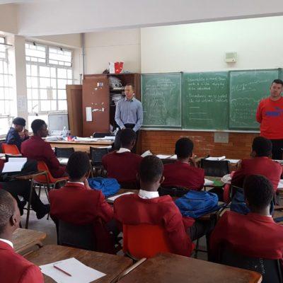 Kensington Boys - in class Ryan & Claudio 20190423